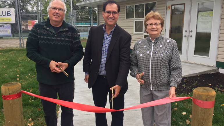 Tuxedo Tennis Club Celebrates Facility Upgrades