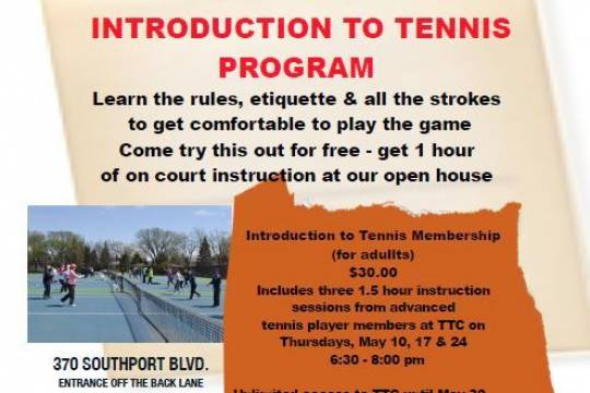 Introduction to Tennis – Week 3
