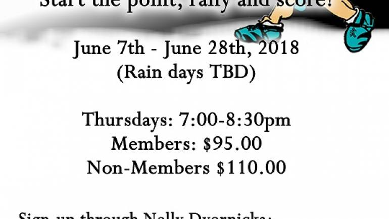 Beginner & Novice Adult Clinics start June 7th
