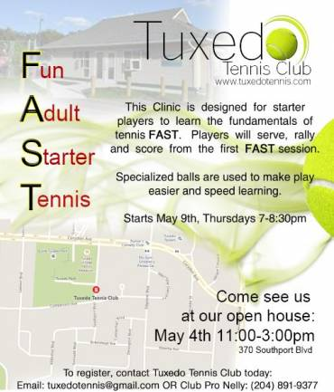 FAST Program (Fun Adult Starter Tennis)